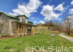 Sustainable Farm Land in Kentucky with House